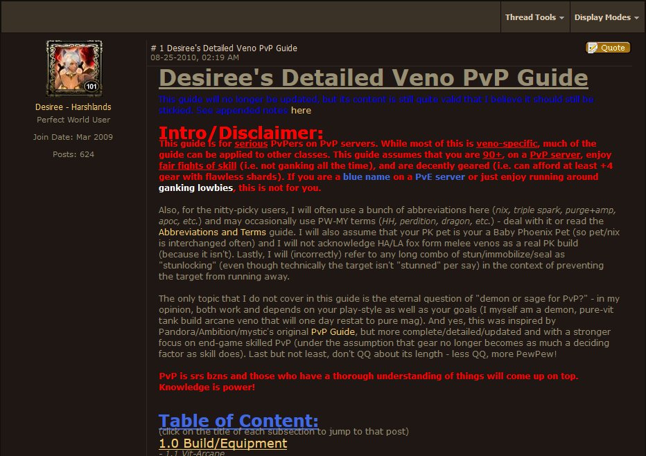 2010-08-25 Desiree's Veno PvP Guide