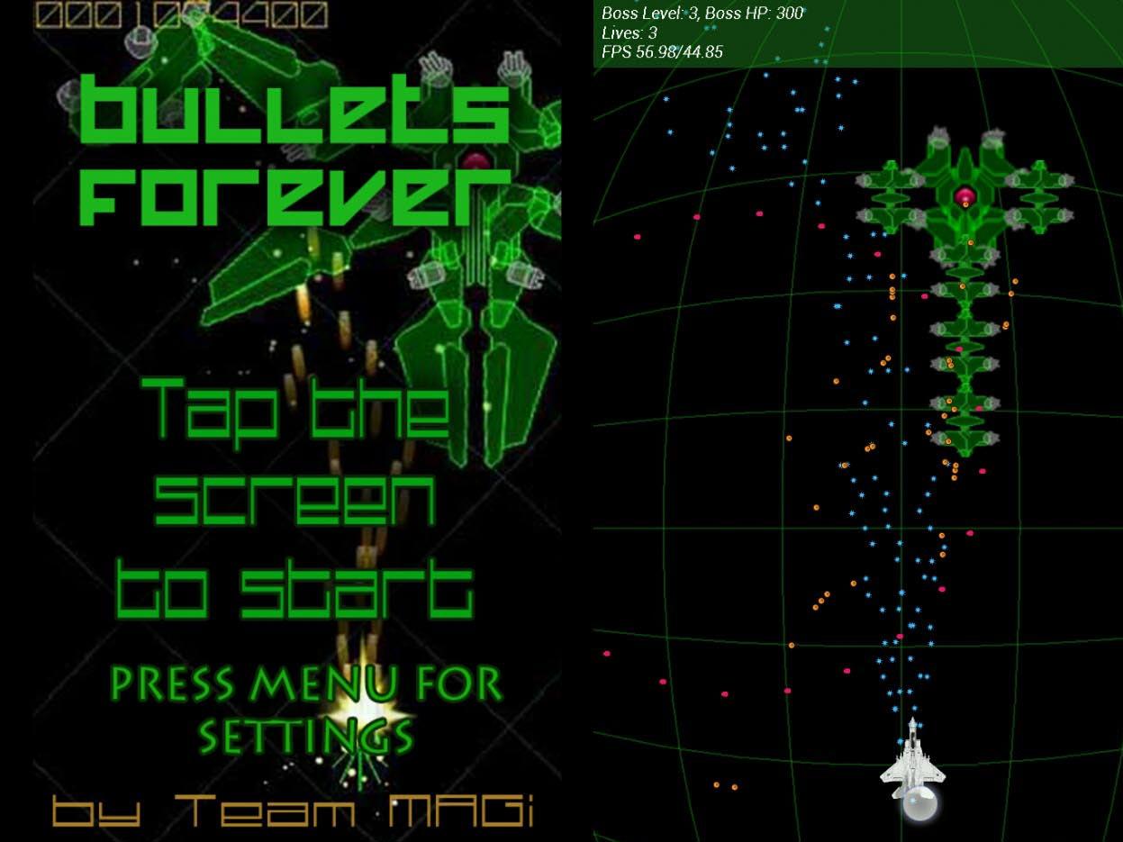 BulletsForever gameplay screenshots