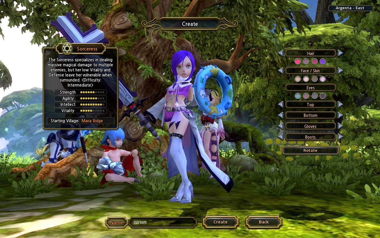 Sorceress Costume Mod Dragon Nest Dragon Nest Mod Pack