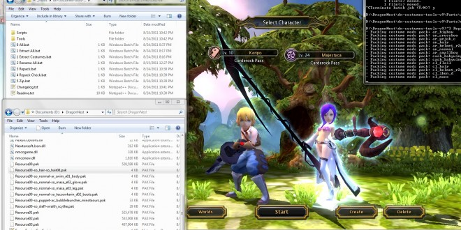 Dragon Nest Costume Renamer + Modding Tools – Keripo's Corner