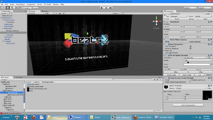 Playing around with Unity4 beta